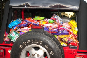 Some Of The Candy From Last Year's Sweet Treat!