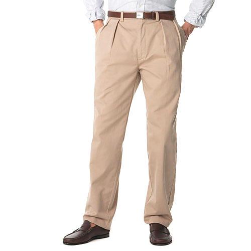 Polo Shirt with Khaki Pants